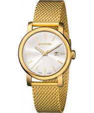Wenger 01-1021-118 Ladies Urban Vintage Gold Plated Mesh Bracelet Watch