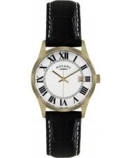 Rotary GS02724-01 Mens Timepieces Black Leather Strap Watch