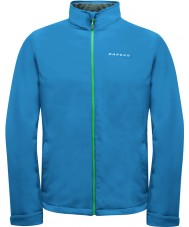 Dare2b Mens Assailant Methyl Blue Softshell Jacket
