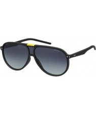 Polaroid PLD6025-S DL5 WJ Matte Black Polarized Sunglasses