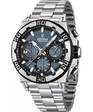 Festina F16658-3 Mens Chrono Bike 2013 Blue and Silver Watch