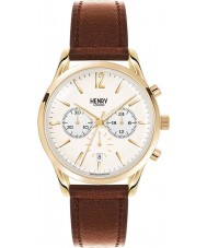 Henry London HL39-CS-0014 Westminster Pale Champagne Tan Chronograph Watch