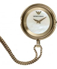 Emporio Armani AR7387 Ladies Gold Plated Pendant Watch