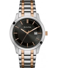 Bulova 98B264 Mens Two Tone Rose Bracelet Watch