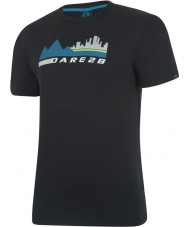 Dare2b Mens City Scene Black T-Shirt