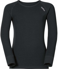 Odlo Kids Black Baselayer Top