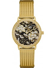 Guess W0822L2 Ladies Willow Gold Plated Mesh Watch