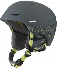 Bolle 31174 Millenium Soft Grey and Yellow Iceberg Ski Helmet - 58-61cm