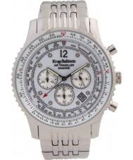 Krug Baümen 600301DS Mens Air Traveller Diamond Watch