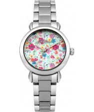 Cath Kidston CKL018SM Ladies Mew Ditsy Silver Bracelet Watch