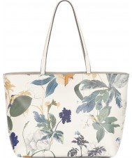 Fiorelli FH8692-PRINT Ladies Tate White Botanical Print Tote Bag