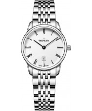 Dreyfuss and Co DLB00146-01 Ladies 1980 Silver Steel Bracelet Watch