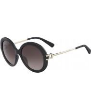 Longchamp Ladies LO605S 001 55 Sunglasses