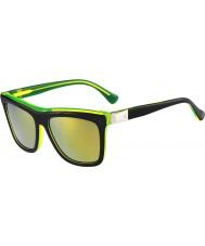 Calvin Klein Platinum Ladies CK4252S Yellow Black Sunglasses