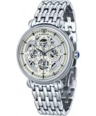 Thomas Earnshaw ES-8043-11 Mens Grand Calendar Silver Steel Automatic Watch