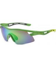 Bolle Limited Edition Vortex Orica Green Brown Emerald Sunglasses