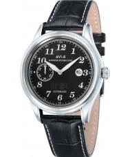 AVI-8 AV-4017-03 Mens Hawker Hurricane Black Leather Strap Watch
