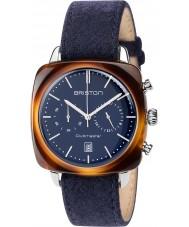 Briston 17140-SA-TV-15-LFNB Clubmaster Vintage Watch