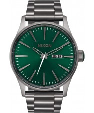 Nixon A356-2458 Mens Sentry All Gunmetal Watch
