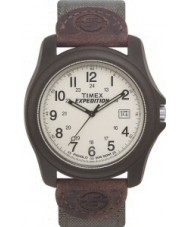 Timex T49101 Mens Brown Green Camper Expedition Watch