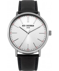 Ben Sherman WB061WB Mens Black Leather Strap Watch