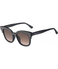Jimmy Choo Ladies Mayela-S 18R VE Sunglasses