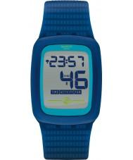 Swatch SVQN100 Electrozero2 Blue Chronograph Watch