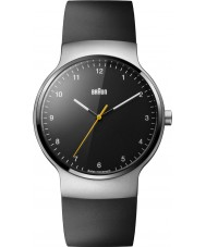 Braun BN0221BKSLBKG Mens Prestige Slim Black Rubber Strap Watch