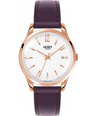 Henry London HL39-S-0082 Ladies Hampstead White Purple Watch