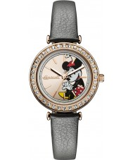 Disney by Ingersoll ID00302 Ladies Union Grey Leather Strap Watch