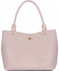 Jennifer Lopez JLH0014-PINKEMBOSS Ladies Madison Bag