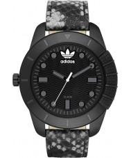 Adidas ADH3043 Mens ADI-1969 Black IP Animal Print Watch