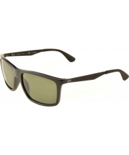 RayBan RB4228 58 Active Lifestyle Black 601-9A Polarized Sunglasses