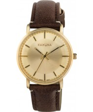 Kahuna KLS-0326L Ladies Brown PU Strap Watch