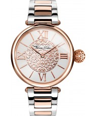 Thomas Sabo WA0257-277-201-38mm Ladies Karma Two Tone Steel Bracelet Watch