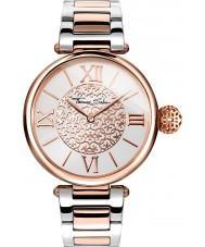 Thomas Sabo WA0257-277-201-38mm Ladies Karma Two Tone Steel Bracelet Watch