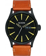 Nixon A105-2664 Mens Sentry Leather Watch