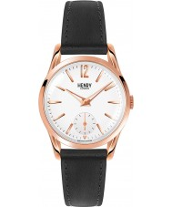 Henry London HL30-US-0024 Ladies Richmond White Black Watch