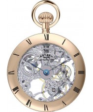 Rotary MP00725-21 Mechanical Pocket Watch with Chain