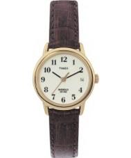 Timex T20071 Ladies Natural Brown Easy Reader Watch
