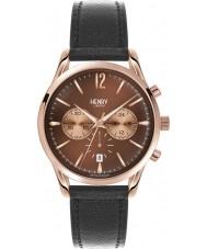 Henry London HL39-CS-0054 Harrow Brown Black Chronograph Watch