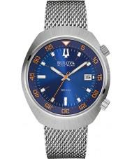 Bulova 96B232 Mens BA II Steel Mesh Watch