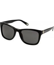 Givenchy Ladies SGV874-700 Black Sunglasses