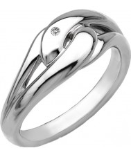 Hot Diamonds DR086-K Ladies Go With The Flow Ring