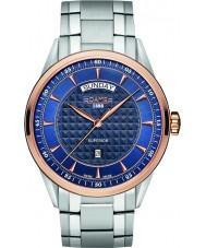 Roamer 508293-49-45-50 Mens Superior Day Silver Steel Bracelet Watch