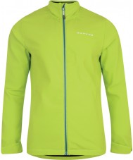 Dare2b Mens Assailant Lime Green Softshell Jacket