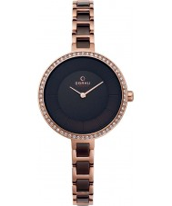 Obaku V191LEVNSV Ladies Two Tone Steel Bracelet Watch