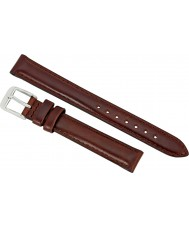 Daniel Wellington DW00200067 Ladies Classy St Mawes 19mm Silver Brown Leather Spare Strap
