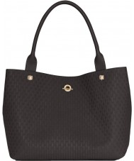Jennifer Lopez JLH0014-BLACKEMBOSS Ladies Madison Bag