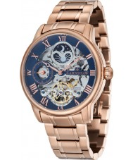 Thomas Earnshaw ES-8006-44 Mens Longitude Rose Gold Plated Bracelet Watch